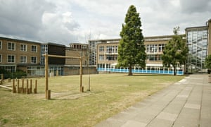 Kidbrooke School in south-east London, England's first purpose-built comprehensive school