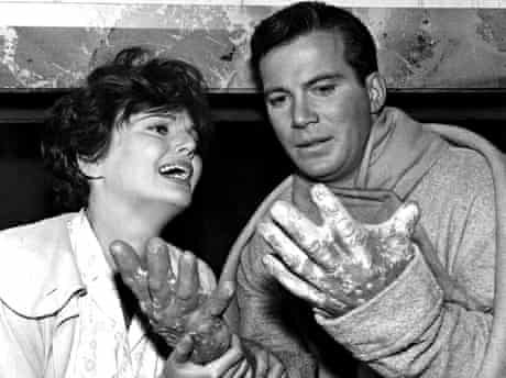 Geraldine Brooks and William Shatner in a 1964 episode of The Outer Limits.