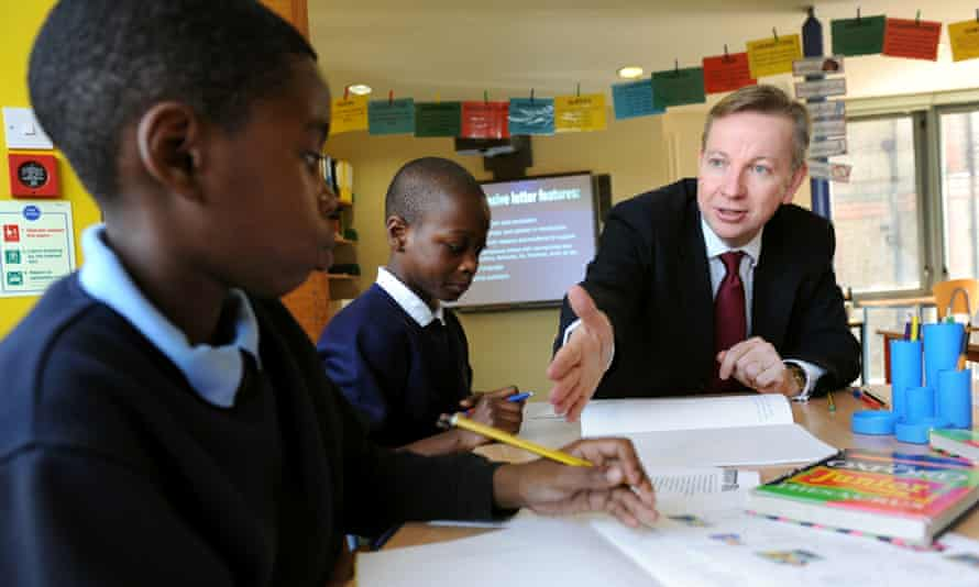 """Education Secretary Michael Gove said he would """"put the promotion of British values at the heart of what every school has to deliver for children."""""""