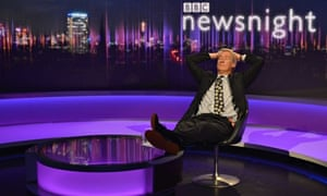 Jeremy Paxman: bowing out from Newsnight