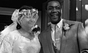 Dawn French and Lenny Henry's wedding in 1984