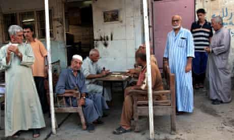 Baghdad Adhamiya district cafe