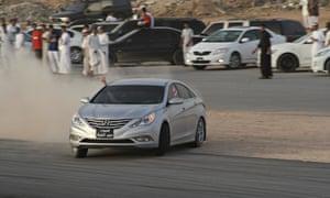 Saudi Arabia joyriding