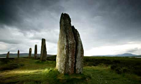 The Ring of Brodgar in Stenness, Orkney