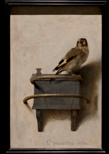 Carel Fabritius's The Goldfinch, which stars at the refurbished and modernised Mauritshuis