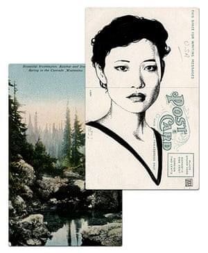Twin Peaks postcards: Twin Peaks postcards by graphic artist Paul Willoughby
