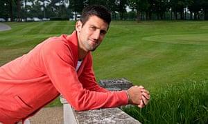 Novak Djokovic in Buckinghamshire