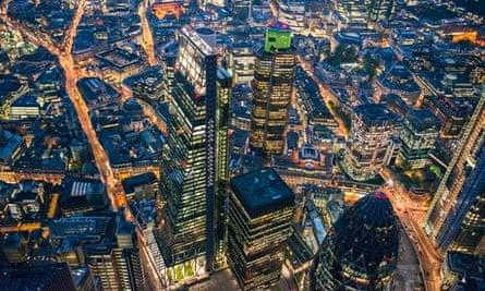 Breathtaking Aerial Views Of London