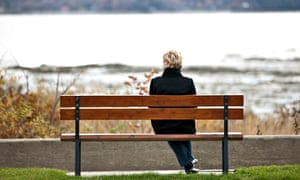 Isolated… or just enjoying her own company?
