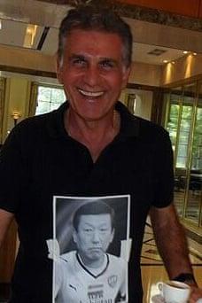 Carlos Queiroz: fashion icon