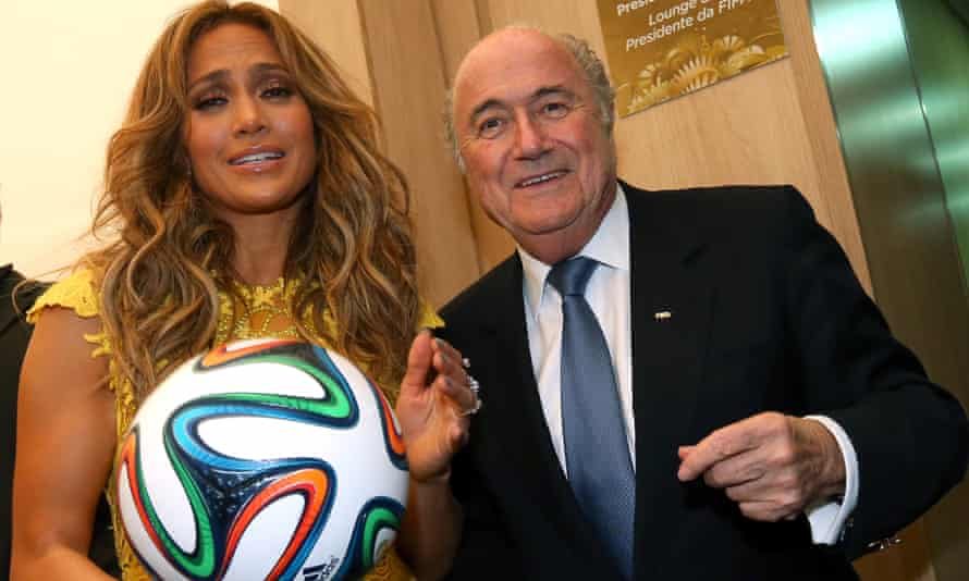 J-Lo, Sepp Blatter and a Brazuca.