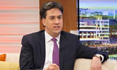 Ed Miliband on ITV