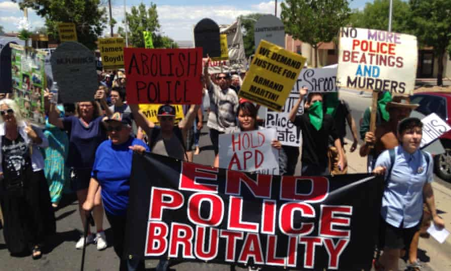 Albuquerque police brutality protest