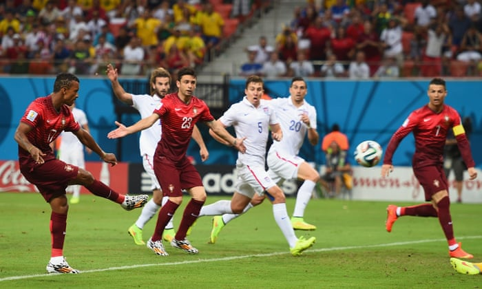 13621d18a USA 2-2 Portugal  World Cup 2014 - as it happened