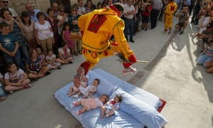 0137084eb168 The baby jumping festival – in pictures