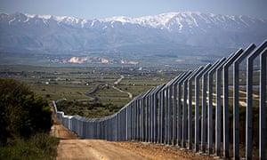 Israeli border fence