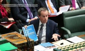 Bill Shorten taunts Abbott.