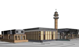 Artists impression Bendigo mosque