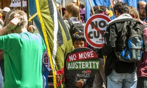 Did you attend the anti-austerity rally in Parliament Square in London on Saturday?