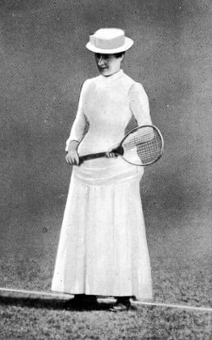 Maud Watson, the first Wimbledon ladies' singles champion, 1884 (and again in 1885)