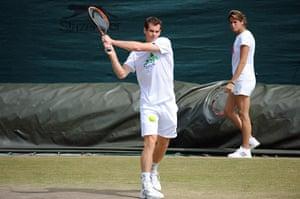 wimbo day 1: Andy Murray