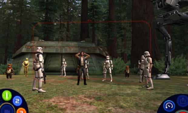 Star Wars Scene Maker for iPad.