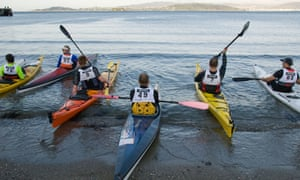 Sea kayaking is among several activities to have fun and find new mindfulness in the wilderness.