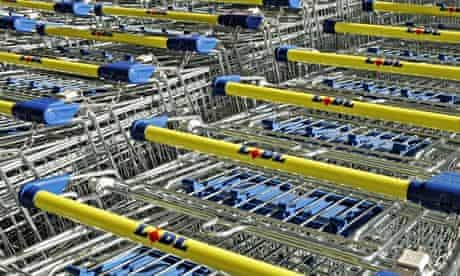 Lidl shopping trolleys