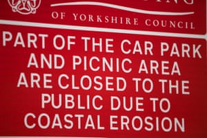 A sign in the car park at Mappleton.