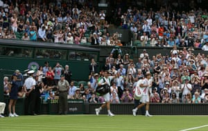 wimbledon day one: Andy Murray