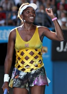 Venus Williams at the 2011 Australian Open