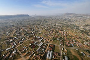 Maseru, Lesotho. Rate: 61.9 (Total 141 in 2009)
