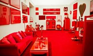 Cildo Meireles' Red Shift at Inhotim.