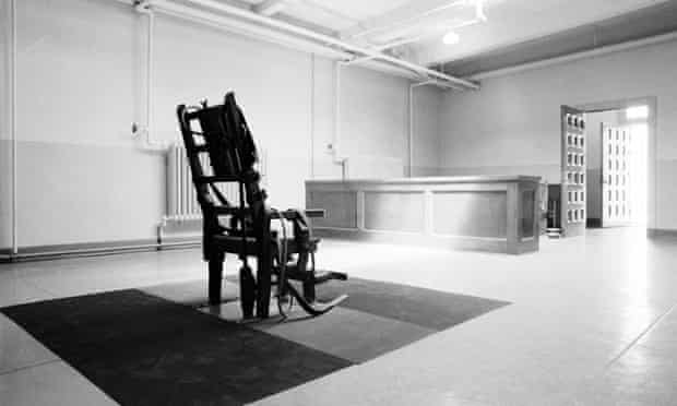 An empty electric chair is shown in the Death House at Sing Sing Prison in Ossining, New York, in this May 17, 1968 photo. If Westchester County has its way, tourists will be invited to take a trip up the Hudson River to a new museum at Sing Sing.