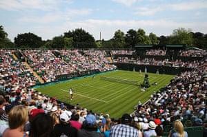 wimbledon first day: Venus Williams