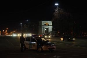 Piata Marii Adunari Nationala main street, Chisinau, Moldova