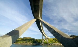 Kylesku road bridge, Scotland