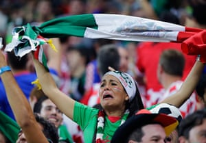 We're through: Mexican fan