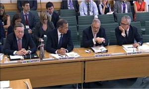 Bank of England behaving like an unreliable boyfriend, say MPs