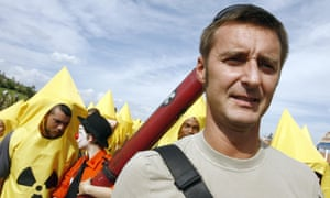 Pascal Husting will no longer take the plane to work, says Greenpeace