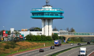 Penine Tower Restaurant at Forton Services in Lancashire