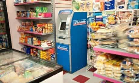 Coronation Street Nationwide ATM.