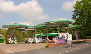 Birstall petrol station