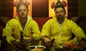 Jesse, Walt, beer and Doritos.