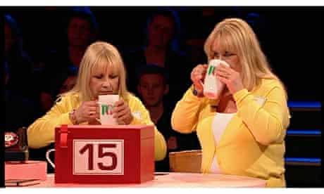 Computer-generated PG Tips on Deal or No Deal.