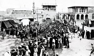 General Maude's entry into Baghdad in 1919
