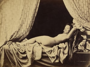 Attributed to Félix-Jacques Antoine Moulin. French, 1802-after 1869, active Paris, France 1840s-50s Female Nude, 1856 Albumen silver print Photograph: Attributed to Félix-Jacques Antoine Moulin/Los Angeles, J. Paul Getty Museum