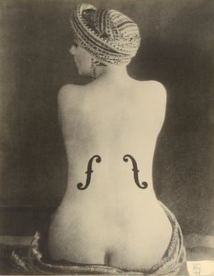 Man Ray American, 1890-1976 Le Violon d'Ingres (Ingres's Violin), 1924 Los Angeles, J Paul Getty Museum