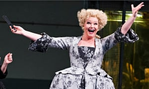 Karita Mattila in Ariadne Auf Naxos at the Royal Opera House in London