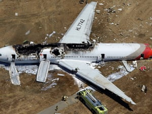 Asiana airlines crash caused by pilot error and confusion